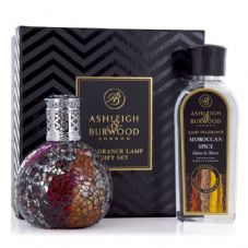 Ashleigh & Burwood Fragrance Lamp Gift Set - Vampiress & Moroccan Spice Lamp Oil